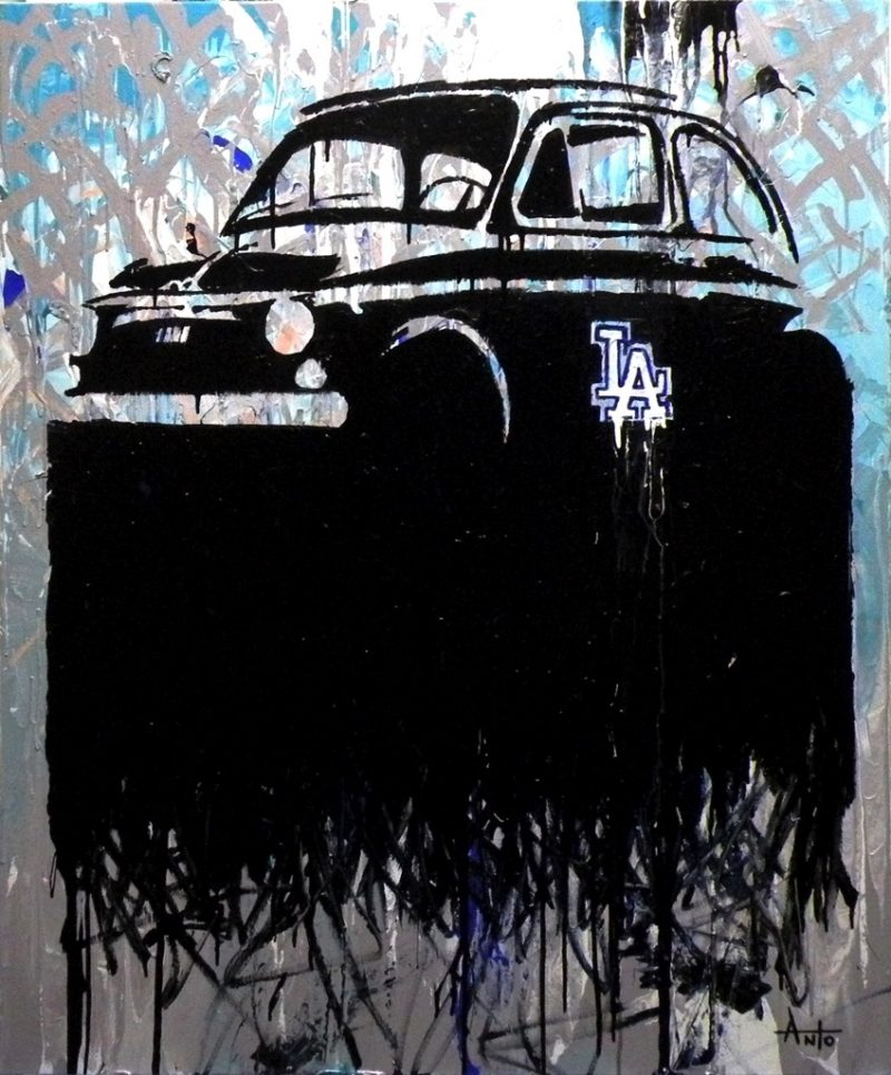 HostedByJL - Galerie d'art en ligne - Anto fils de pop - LA Fiat (Los Angeles - Fiat)