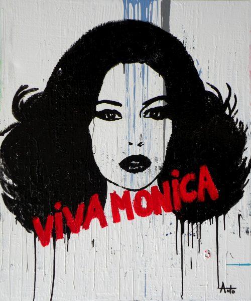HostedByJL - Galerie d'art en ligne - Anto fils de pop - Viva monica (Monica Viva)