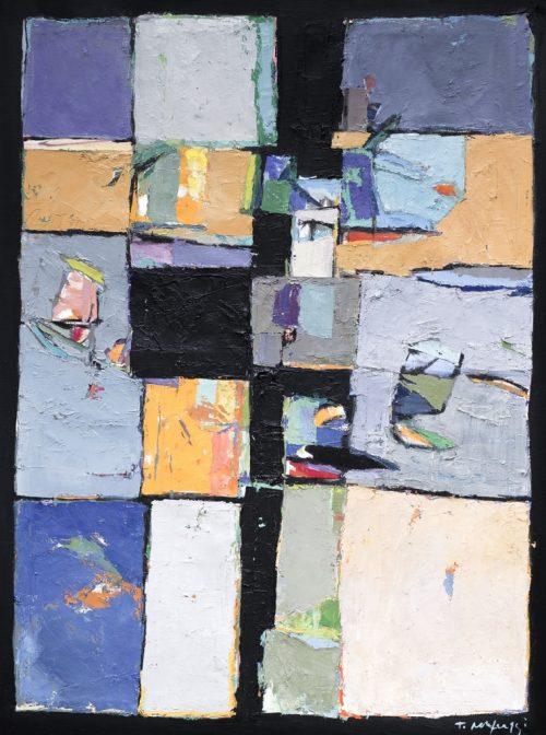 HostedByJL - Galerie d'art en ligne - Toussaint Mufraggi - Toile 97x130