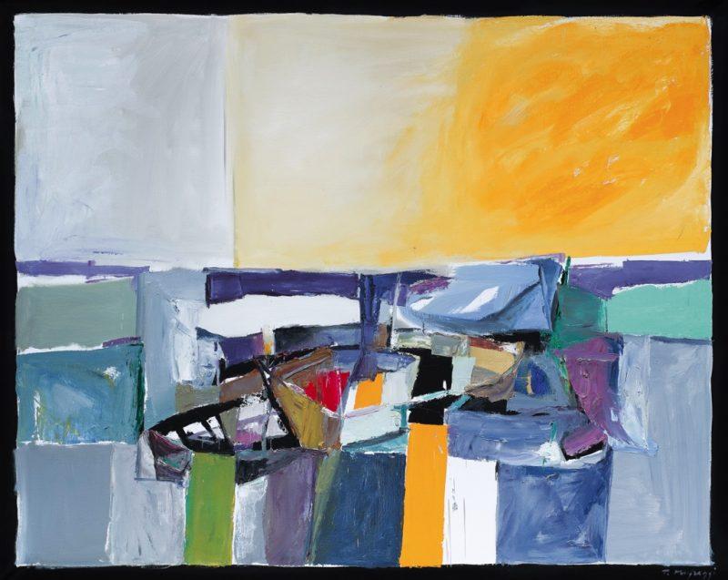 HostedByJL - Galerie d'art en ligne - Toussaint Mufraggi - Toile 162x130