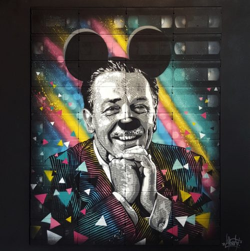 HostedByJL - Galerie d'art en ligne - Mr One teas - Disney Child Soul
