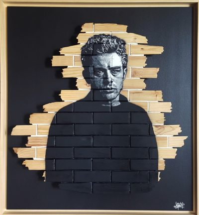 HostedByJL - Galerie d'art en ligne - Mr One teas - James (James Dean)
