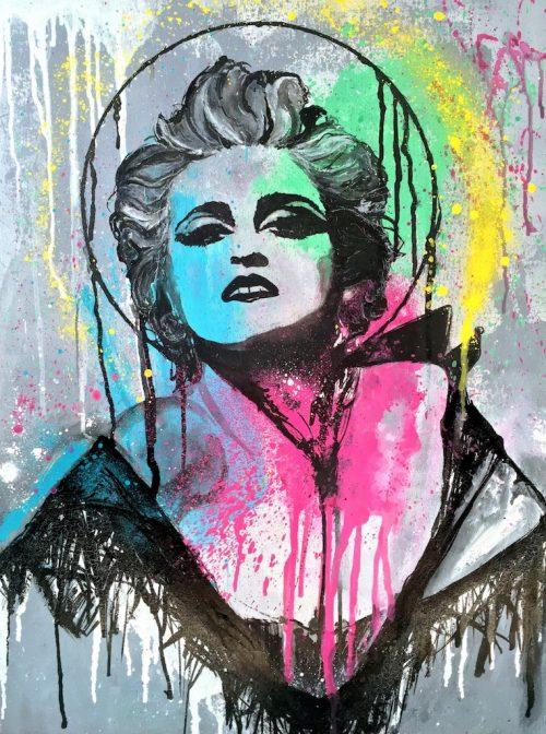 HostedByJL - Galerie d'art en ligne - Victor lorenzi - Santa Madonna (Madonna)