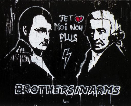 HostedByJL - Galerie d'art en ligne - Anto fils de pop - Brothers in arms