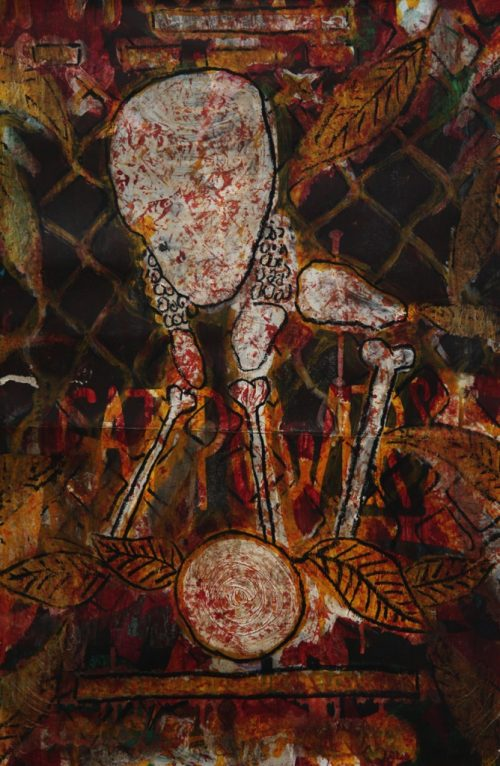 HostedByJL - Galerie d'art en ligne - Alec Malinofsky - Dessin 40x60
