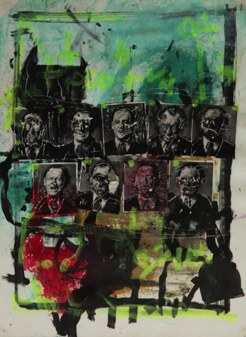 HostedByJL - Galerie d'art en ligne - Alec Malinofsky - Dessin 37x47
