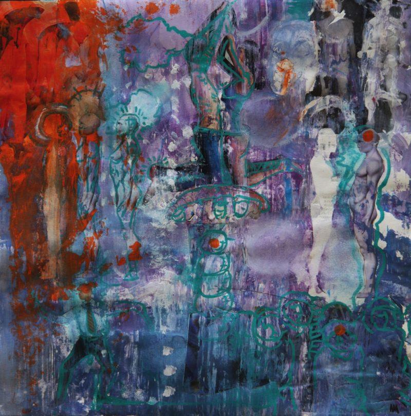 HostedByJL - Galerie d'art en ligne - Alec Malinofsky - Dessin 40x40