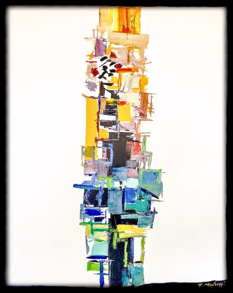 HostedByJL - Galerie d'art en ligne - Toussaint Mufraggi - Toile 81x100