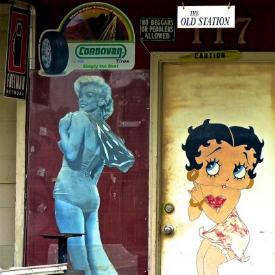 HostedByJL - Galerie d'art en ligne - Carine Poletti - Pile ou Face - Betty Boop - Marylin
