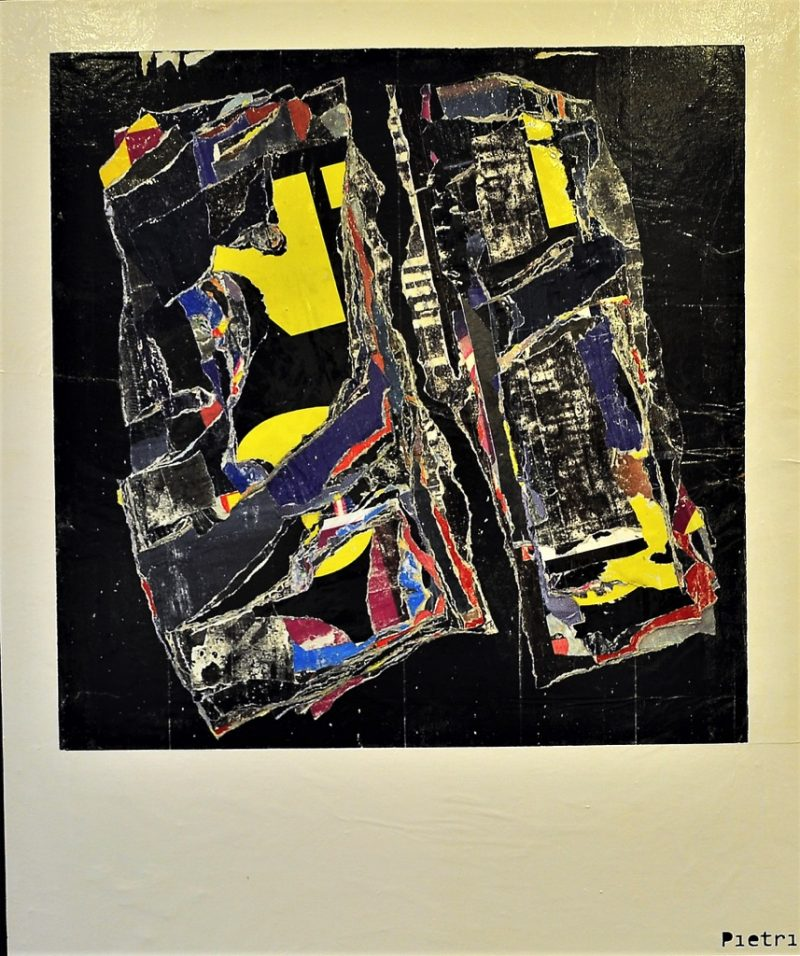 HostedByJL - Galerie d'art en ligne - Jean-Pierre Pietri - Abstract Meteorit