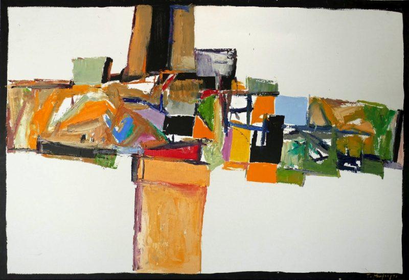 HostedByJL - Galerie d'art en ligne - Toussaint Mufraggi - Toile 130x89