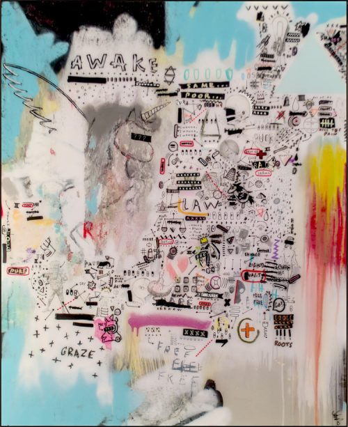 HostedByJL - Galerie d'art en ligne - Sébastien Dominici - an umbalance abondance