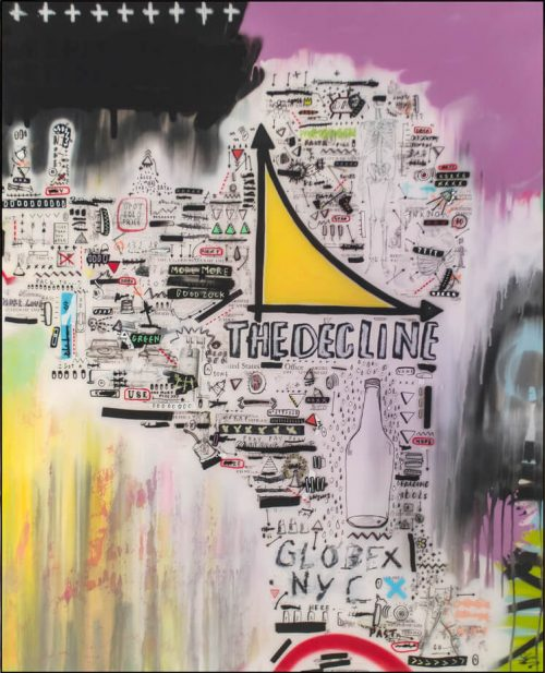 HostedByJL - Galerie d'art en ligne - Sébastien Dominici - falling idols