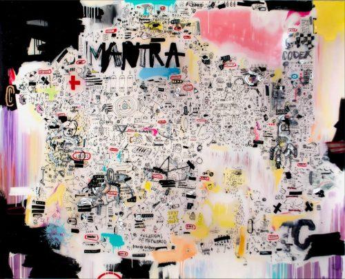 HostedByJL - Galerie d'art en ligne - Sébastien Dominici - mantra