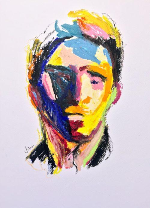 HostedByJL - Galerie d'art en ligne - Victor lorenzi - Inconsciemment