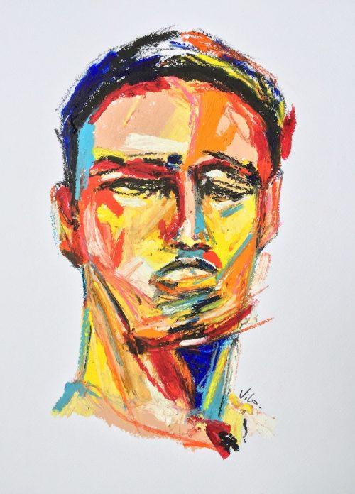 HostedByJL - Galerie d'art en ligne - Victor lorenzi - Man of Steel
