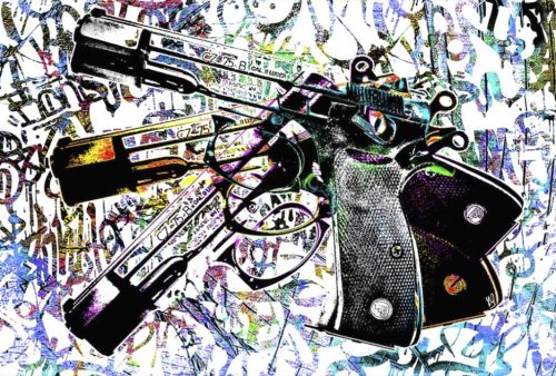 HostedByJL - Galerie d'art en ligne - Youns - 3 Guns