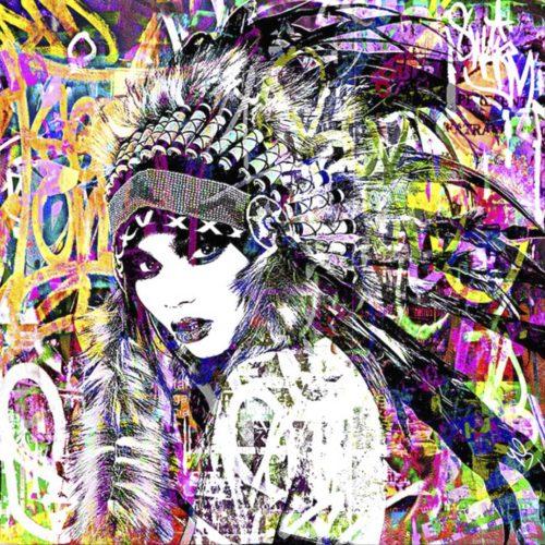 HostedByJL - Galerie d'art en ligne - Youns - Indian Girl