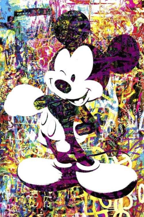 HostedByJL - Galerie d'art en ligne - Youns - Mickey (Mickey Mouse)