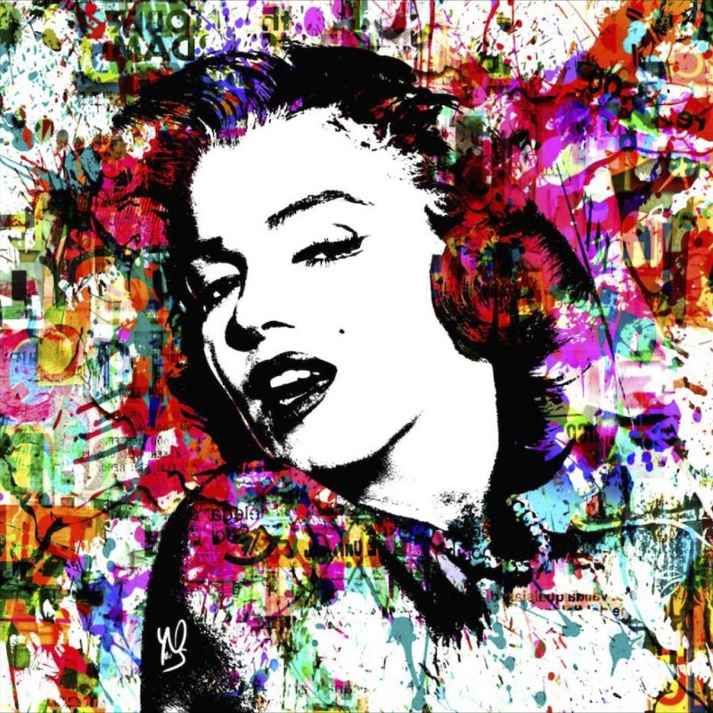 HostedByJL - Galerie d'art en ligne - Youns - Monroe (Marylin Monroe)