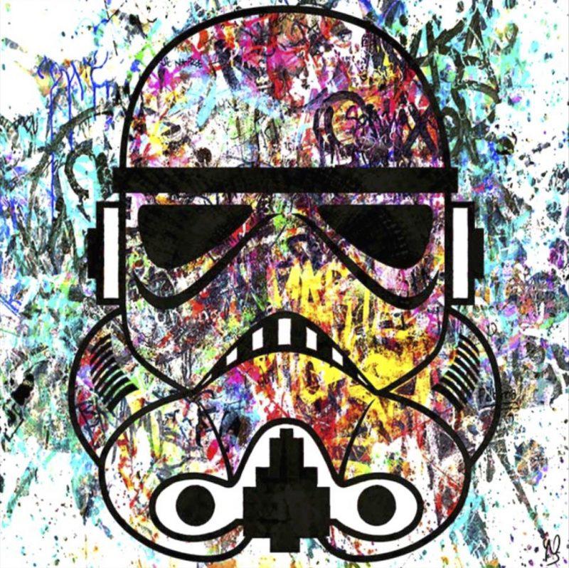 HostedByJL - Galerie d'art en ligne - Youns - Stormtrooper