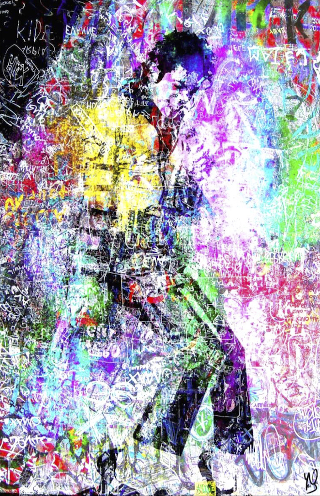 HostedByJL - Galerie d'art en ligne - Youns - Jackson (Michael jackson)