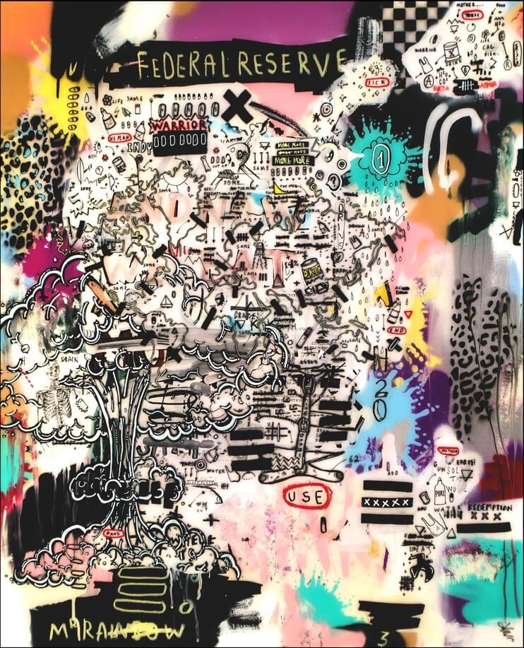 HostedByJL - Galerie d'art en ligne - Sébastien Dominici - Los Alamos Crisis